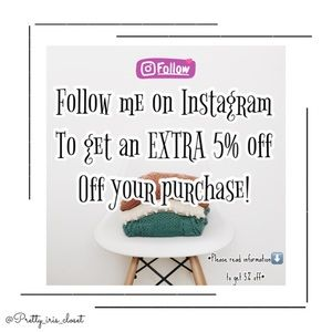 Extra 5% Off Your Purchase